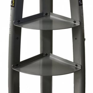 Troy USA Vertical Kettlebell Rack With Hooks - GKBR-3