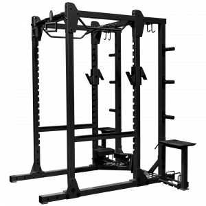 Fettle Fitness Full Rack with Rotating Chinup