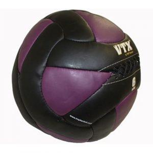 6Lb Troy VTX Leather Wall Ball - PWB-006