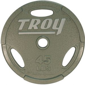 "45Lb Troy 2"" Iron Grip Plate - GO-045"