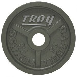 25Lb Troy Machined Olympic Plate - HO-025