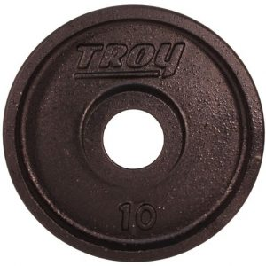 10Lb Troy Premium Olympic Plate - PO-010