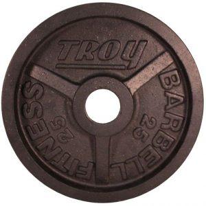25Lb Troy Premium Olympic Plate - PO-025