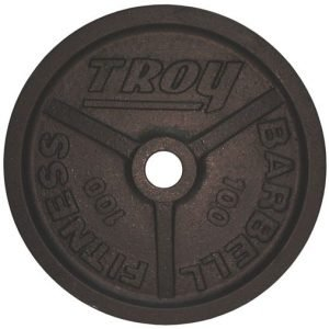 100Lb Troy Premium Olympic Plate - PO-100