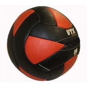 16Lb Troy VTX Leather Wall Ball - PWB-016